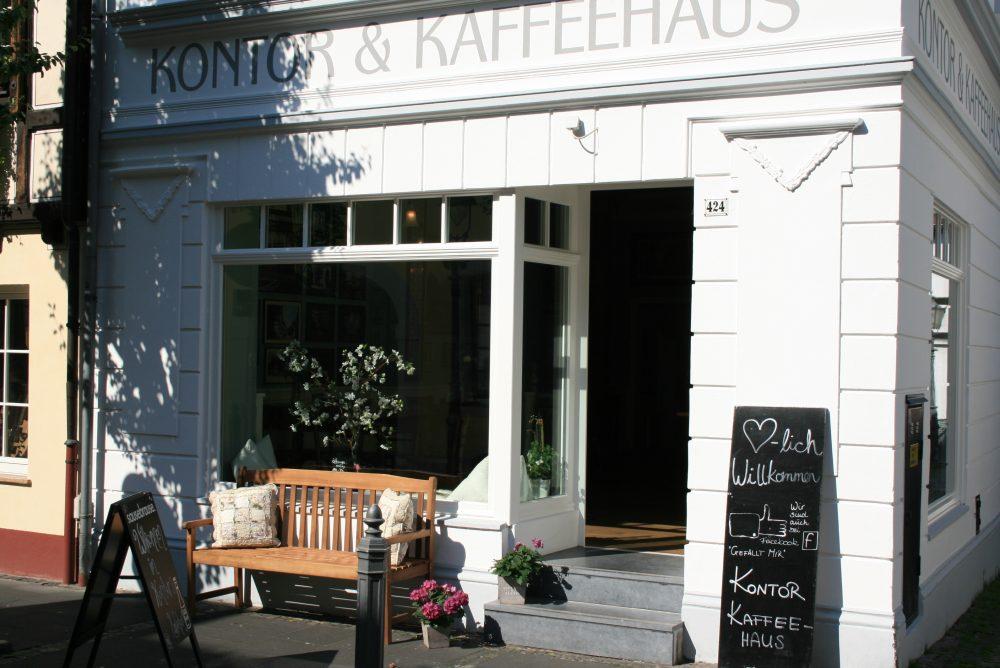 Kontor und Kaffeehaus-Revitalisierung in Königswinter-Schreinerei Gerards