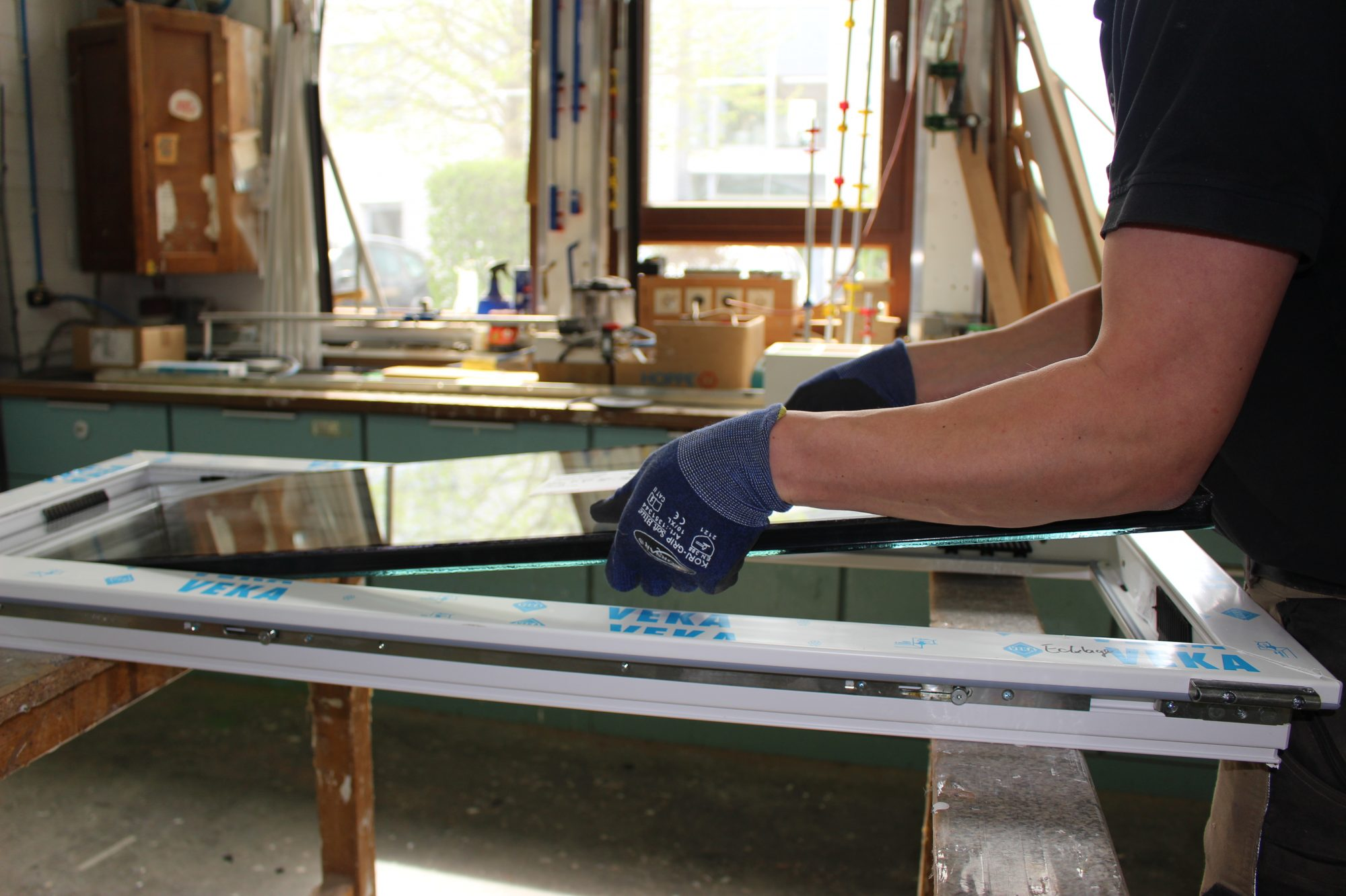 Holzfenster-Schreinerei Gerards-eigene Herstellung