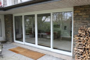 Terrassentür-Schiebetür-Fenstertür-Schreinerei Gerards