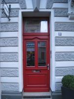 Hautür rot-Schreinerei Gerards-Schreiner in Bonn